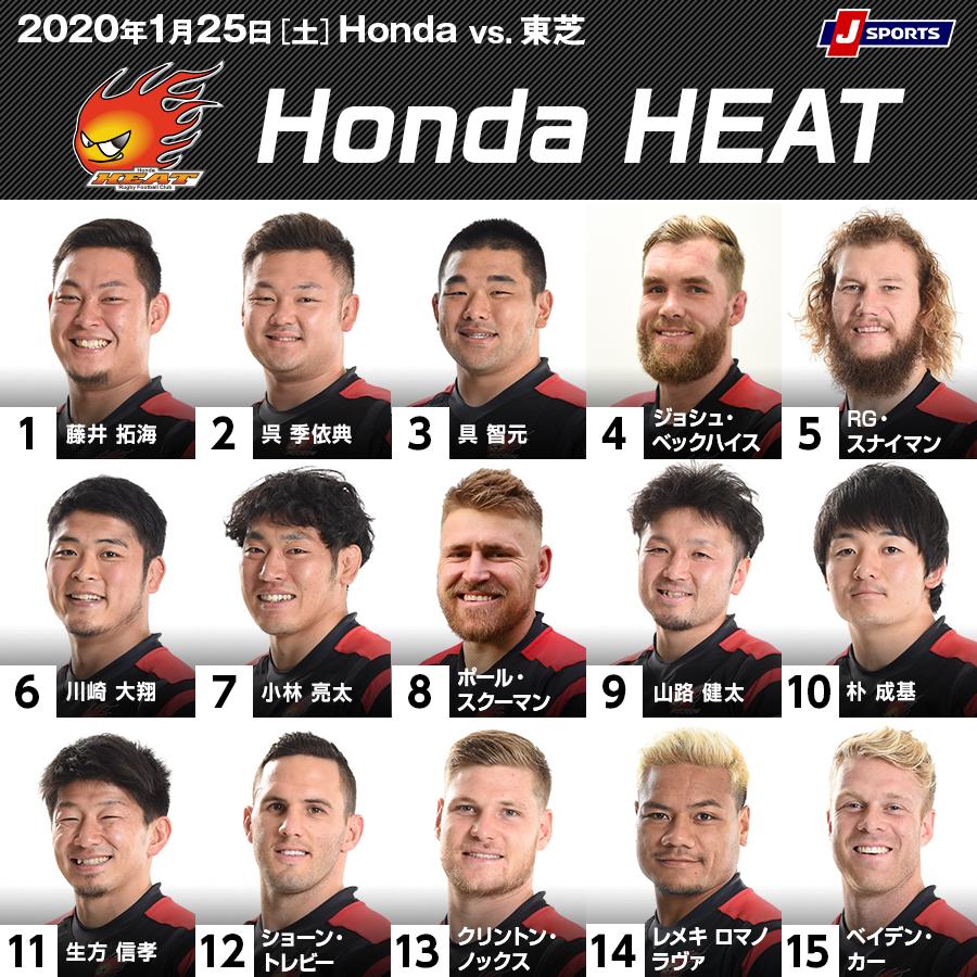TLスタメン Honda