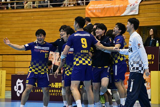 日本選手権の再現を狙う豊田合成セブン