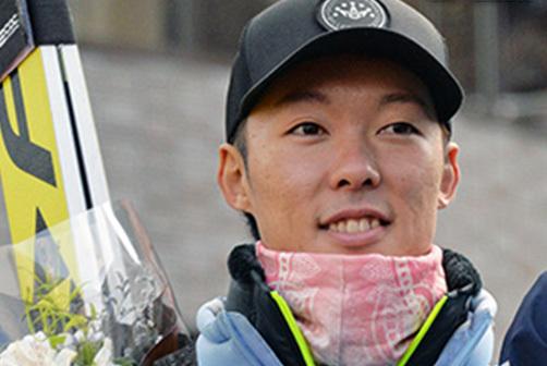 開幕戦でW杯初優勝した 小林潤志郎(雪印メグミルク)
