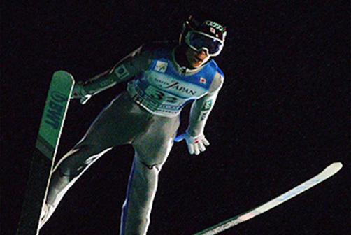 白馬サマーグランプリで優勝した小林陵侑(土屋ホーム)