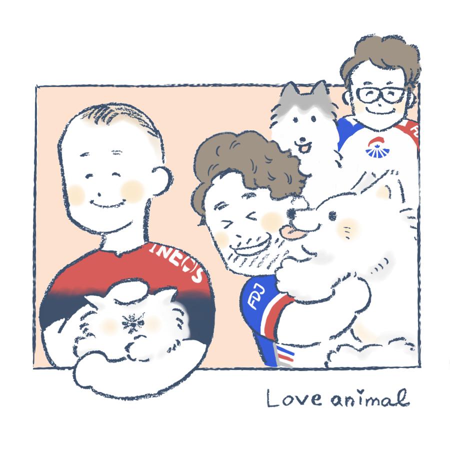 プロトン猫派犬派動物事情