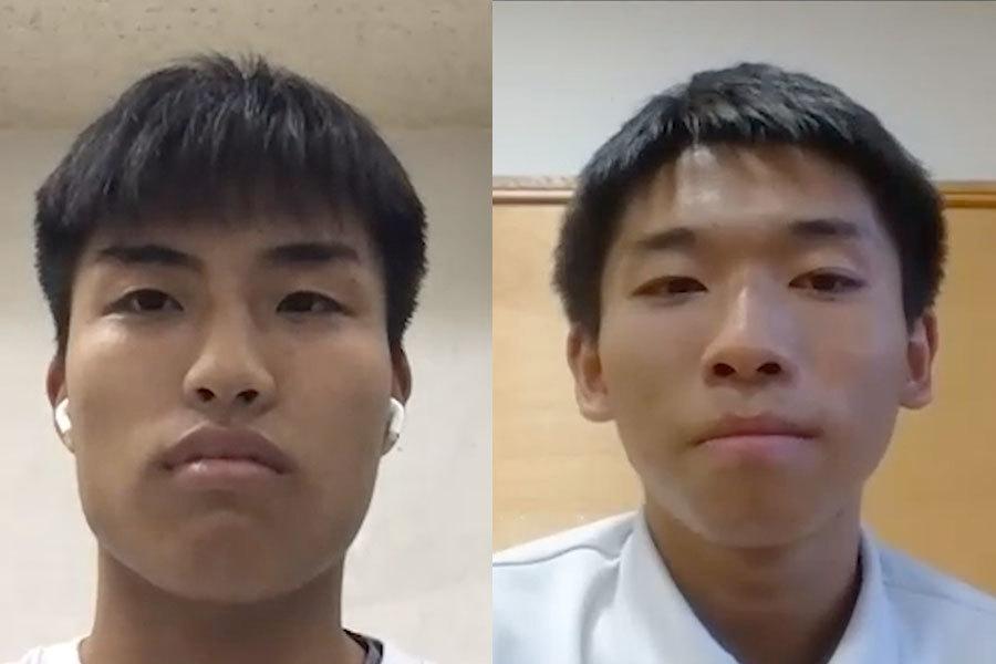 報徳学園 松岡太陽 × 飛龍高校 櫻井椋介