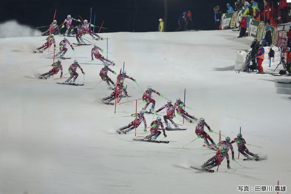 昨シーズンの優勝はヘンリック・クリストファーセン。素晴らしい滑りでフェリックス・ノイロイターに重圧をかけ、逆転優勝を飾った