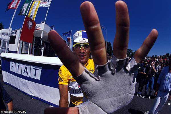 ツール・ド・フランスを知るための100の入り口:最多勝利選手4 ミゲル・インドゥライン