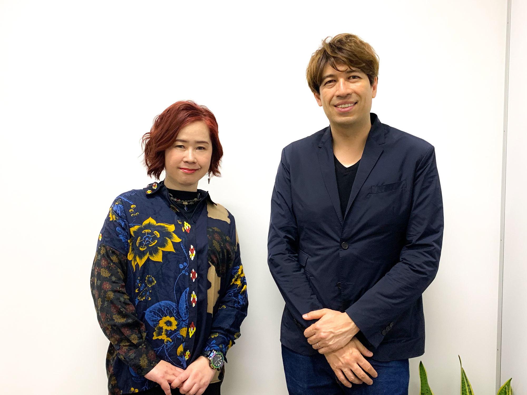 梶浦さんとサッシャさん