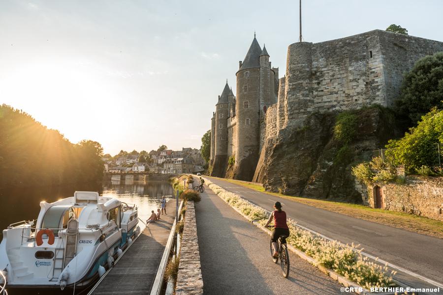 ブルターニュをサイクリング
