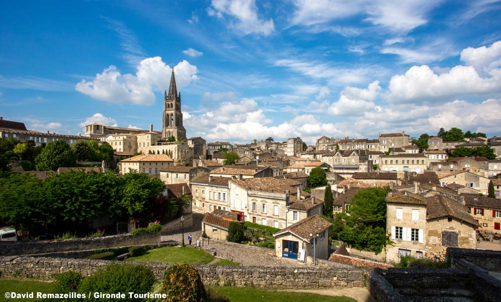 サンテミリオンは小さな町だが、世界中にその名が知られている