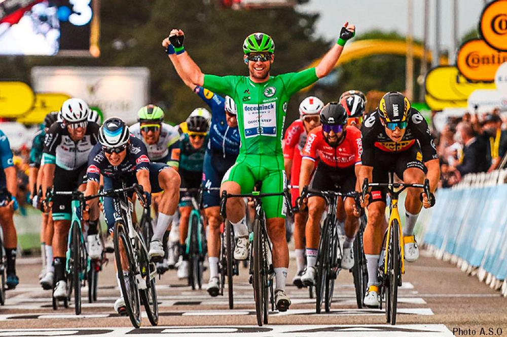 カヴェンディッシュは今大会3勝目、ツール・ド・フランス区間通算33勝目
