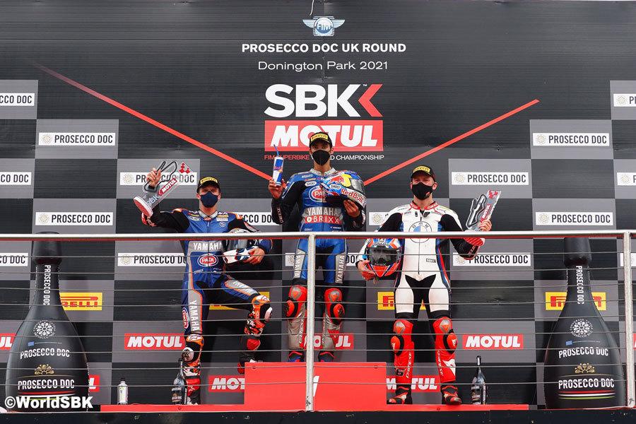 第4戦 決勝レース2 ポディウム  ラズガットリオグルが優勝した