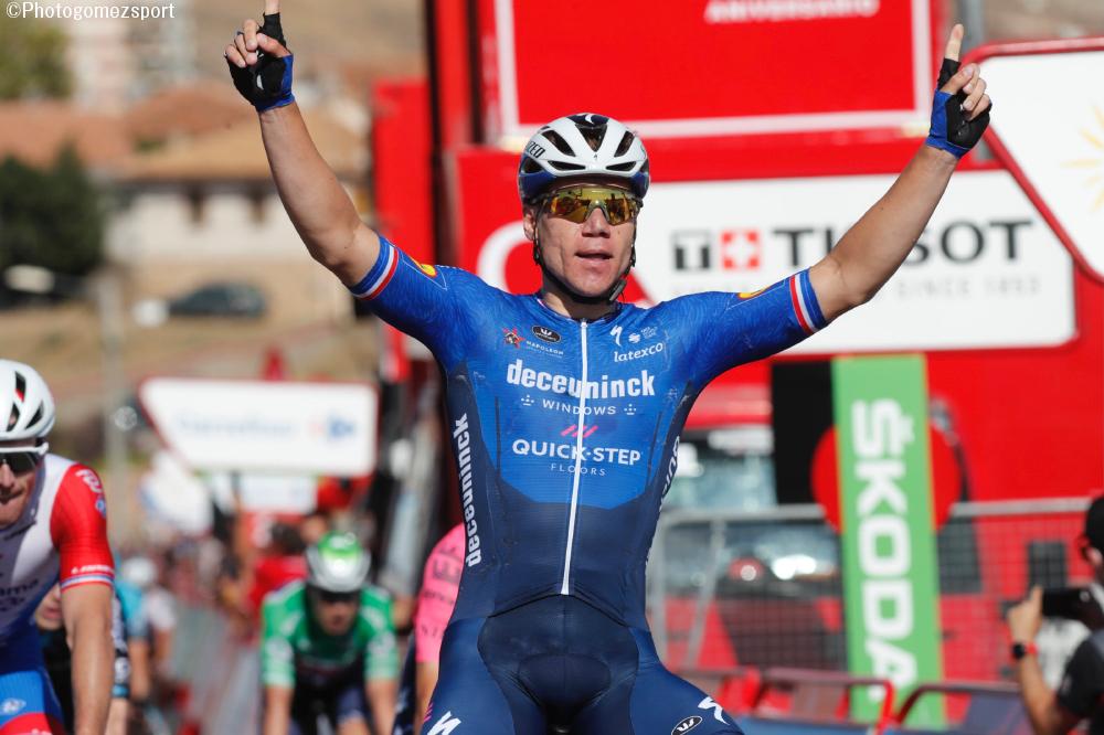 ファビオ・ヤコブセンが大怪我からの完全復活勝利、ブエルタ通算3勝目