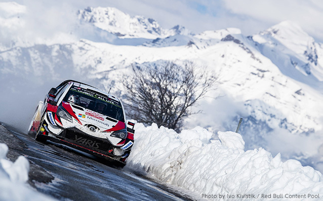2019年WRC 第1戦ラリー・モンテカルロ