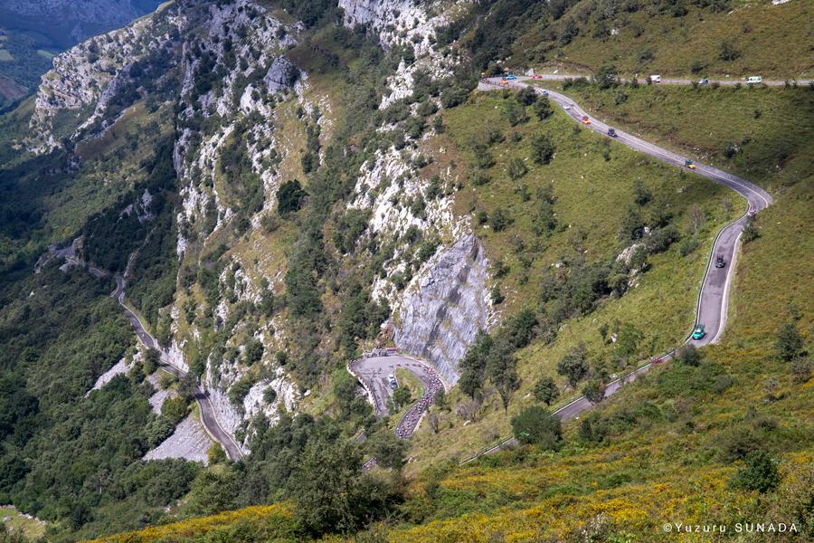 ブエルタ・ア・エスパーニャ 山岳コース