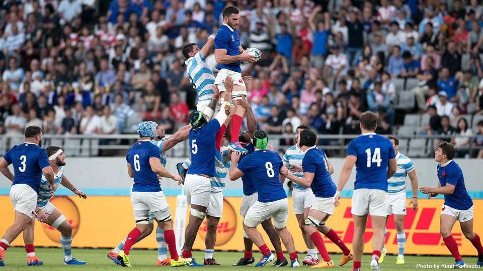 「死のプールC」、フランスが天敵・アルゼンチンに辛勝。ラグビーワールドカップ