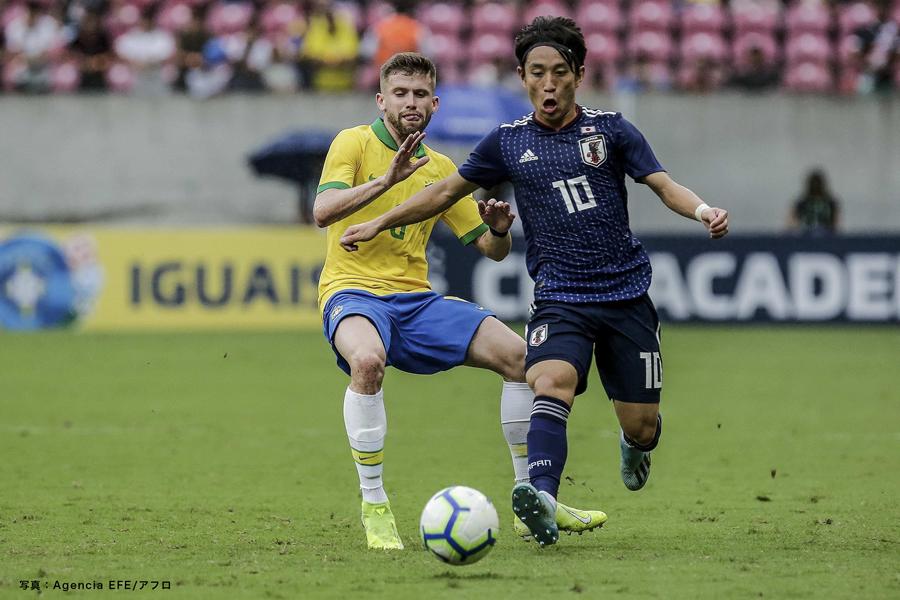サッカー U-22日本代表 ブラジル遠征 国際親善試合