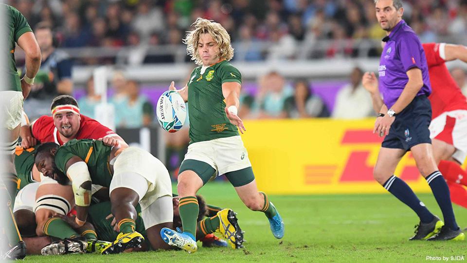 ラグビー 日本 vs 南アフリカ
