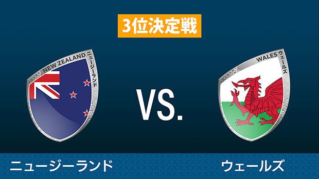 ニュージーランド vs. ウェールズ