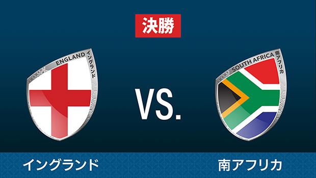 イングランド vs. 南アフリカ