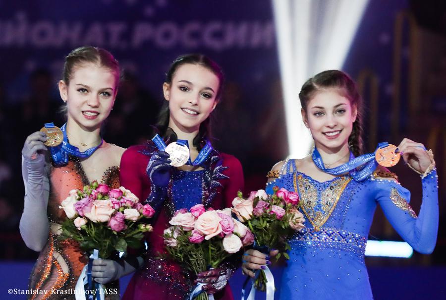 ロシアフィギュアスケート選手権2020 女子シングル
