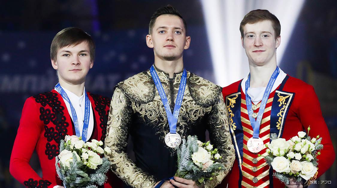 ロシアフィギュアスケート選手権2020 男子シングル