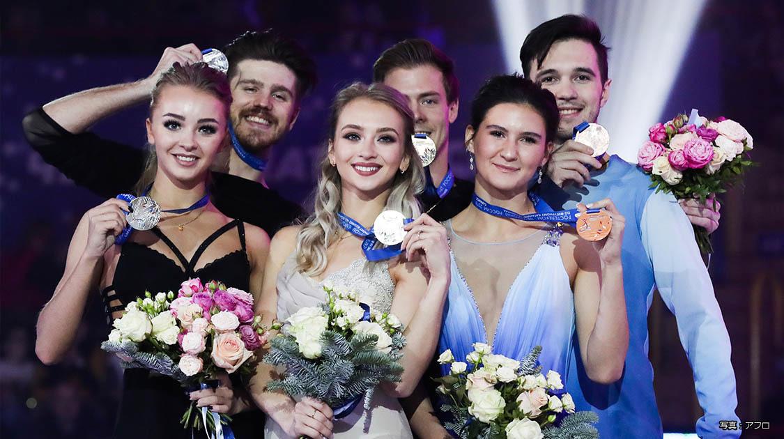 ロシアフィギュアスケート選手権2020 アイスダンス